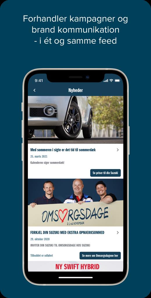 Suzuki - Nyheder app